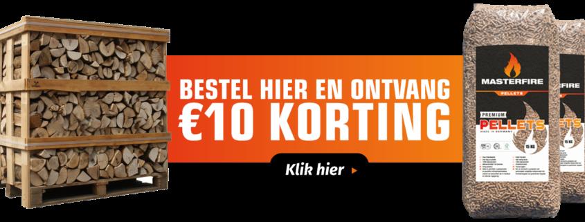 Bestel hier en ontvang € 10 korting